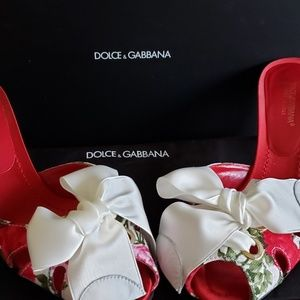Dolce and Gabbana mules